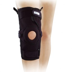 Mesh highed knee brace